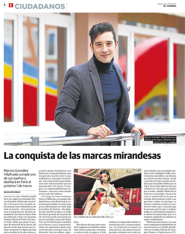 Marcos Villafruela en El Correo